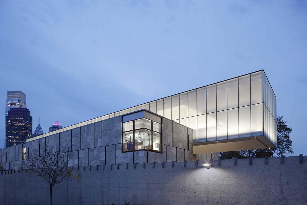North Window for Conservation, Conservation Studio, Barnes Foundation