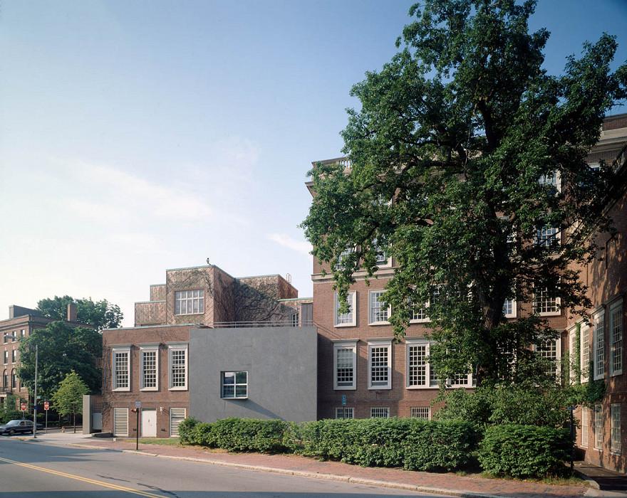 View From North, Agnes Mongan Center, Harvard University Museum