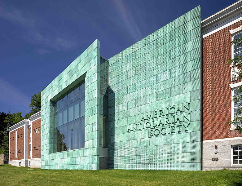 East Facade, American Antiquarian Society
