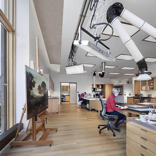 Barnes Foundation Conservation Studio
