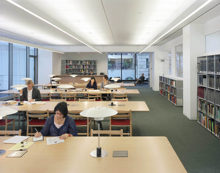 Library Reading Room, Library & Museum Archives, MoMA