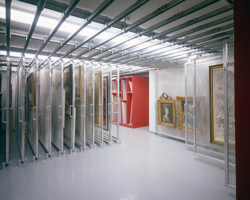 Storage, Agnes Mongan Center, Harvard University Museum