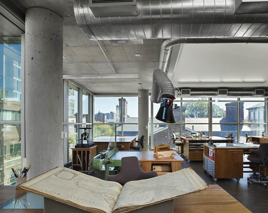 Weisman Preservation Center, Collections Center, Harvard University Library