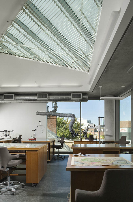 Skylight, Collections Center, Harvard University Library
