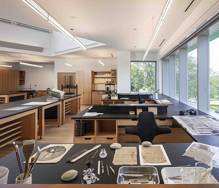 Conservation Studio, American Antiquarian Society