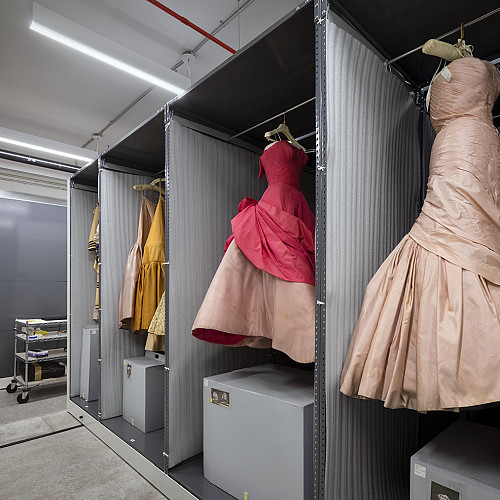 Museum Collection Storage + Library/SPARC, Fashion Institute of Technology