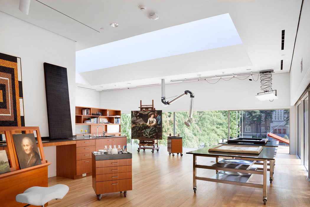 Expanse, Paintings Conservation, Gallery and Founders Room, Dallas Museum of Art