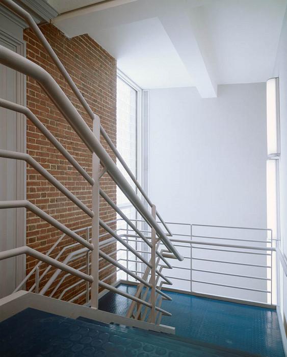 Stairwell, Agnes Mongan Center, Harvard University Museum