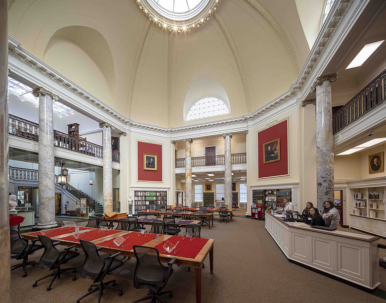 Reading Room, American Antiquarian Society