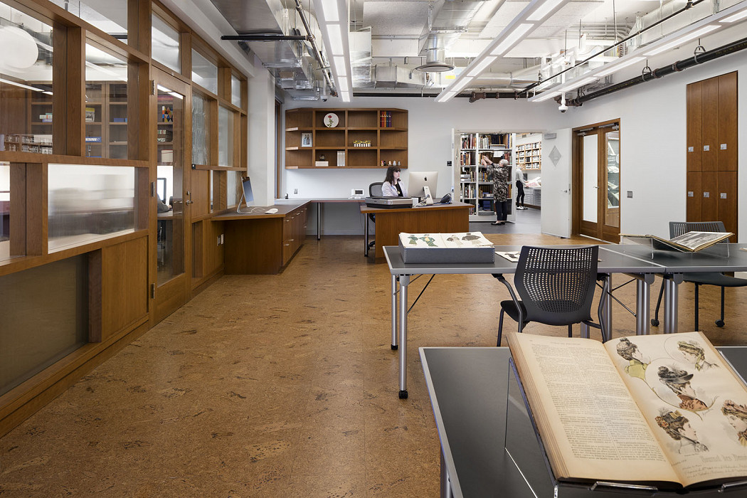 SPARC Reading Room, Library, Fashion Institute of Technology