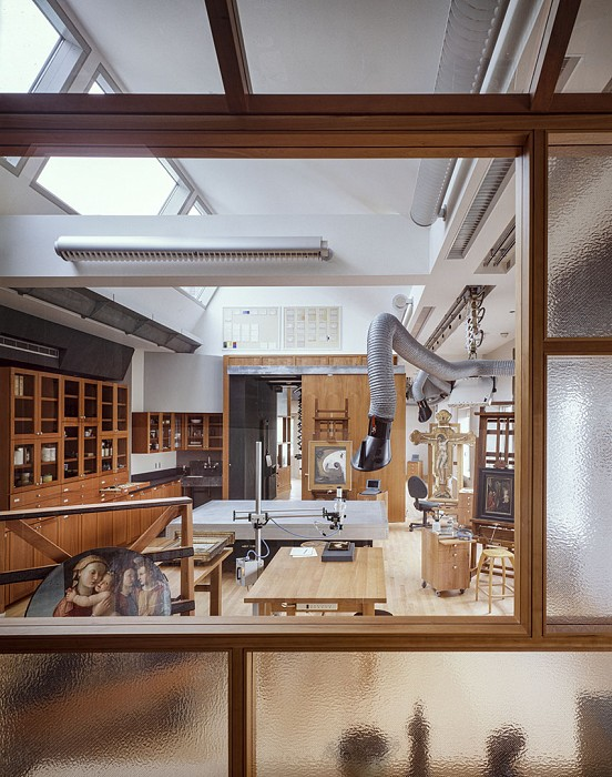Paintings Lab, Straus Center for Conservation, Harvard Art Museums