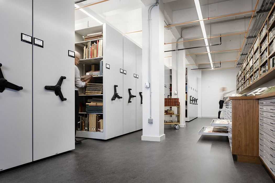 Special Collections and Archives storage, Library, Fashion Institute of Technology