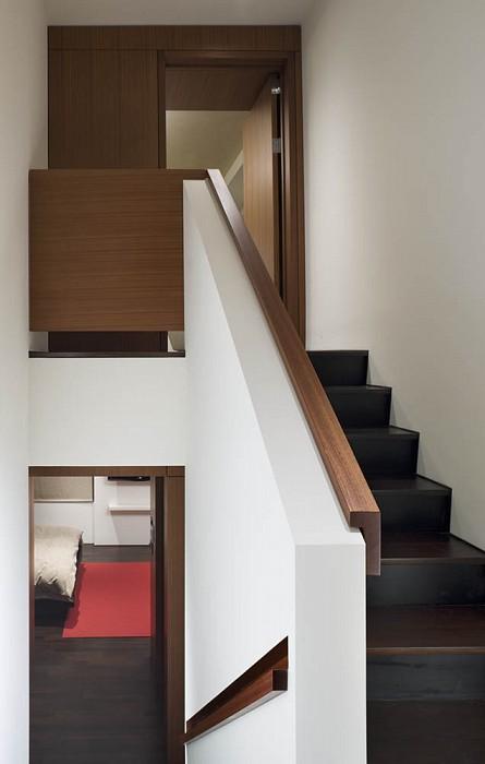 Stair, Mercer Greene Apartment
