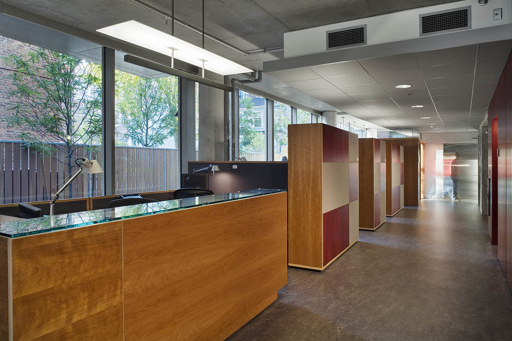 Reception Suite, Collections Center, Harvard University Library