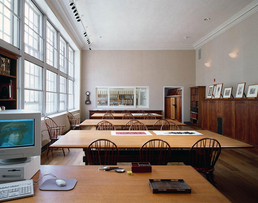 Study Room, Agnes Mongan Center, Harvard University Museum