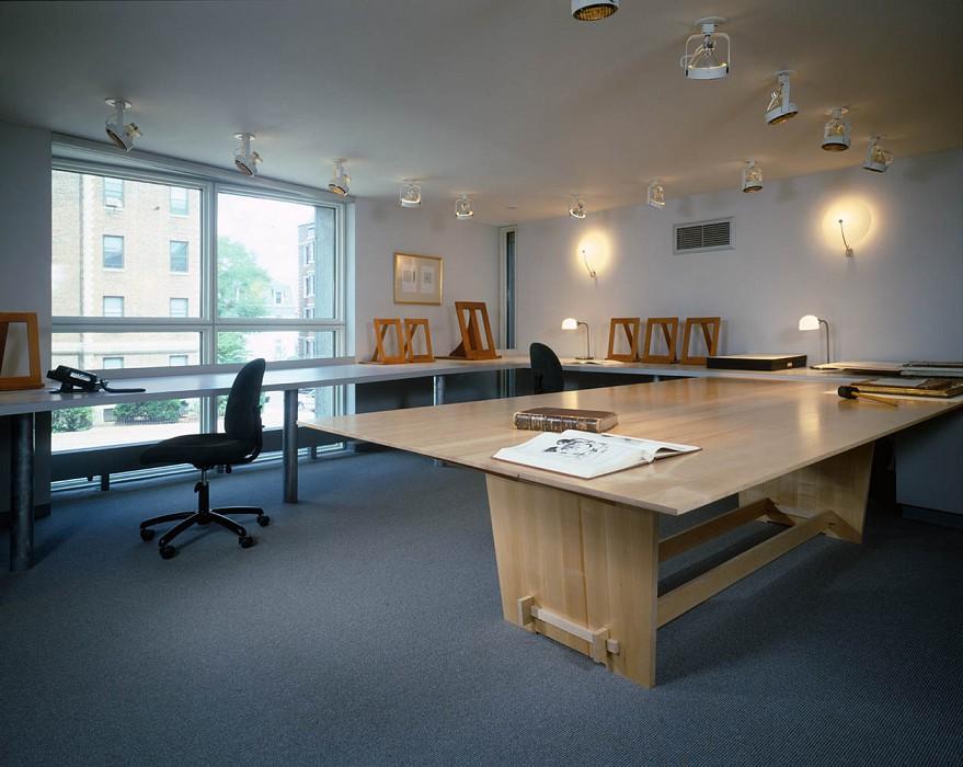 Accession Room, Agnes Mongan Center, Harvard University Museum