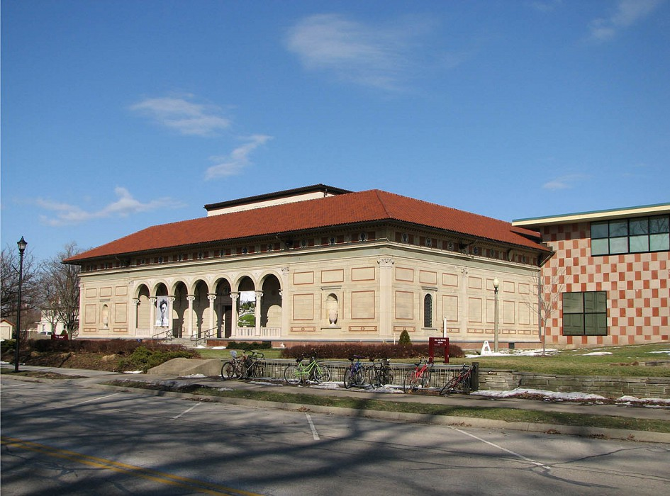 Main Entry, Allen Memorial Art Museum Expansion & Renovation, Oberlin College