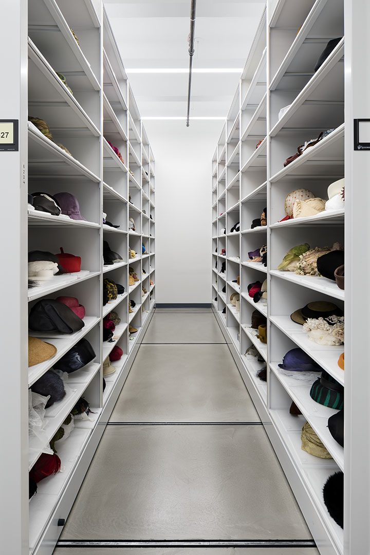 Museum Collection Storage Library Sparc Fashion Institute Of Technology