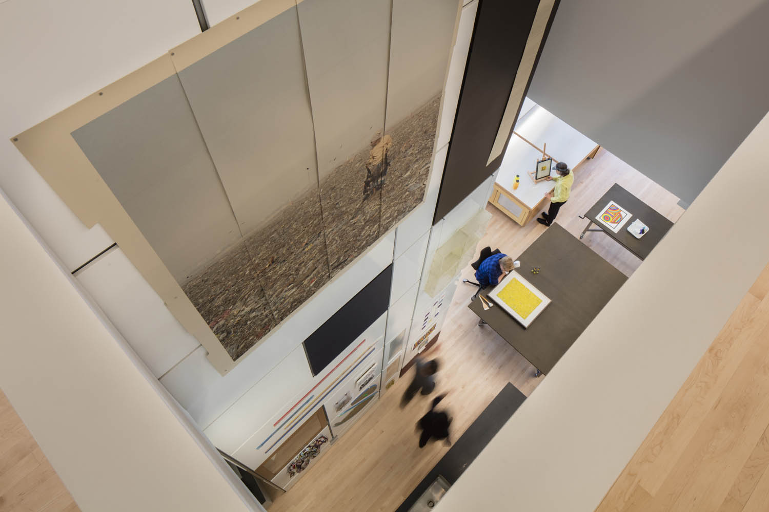 Conservation Studio Amp Collection Support Sfmoma