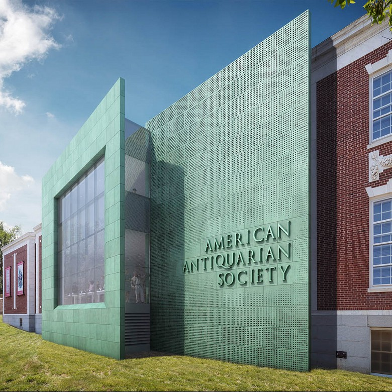 American Antiquarian Society, Expansion and Renovation