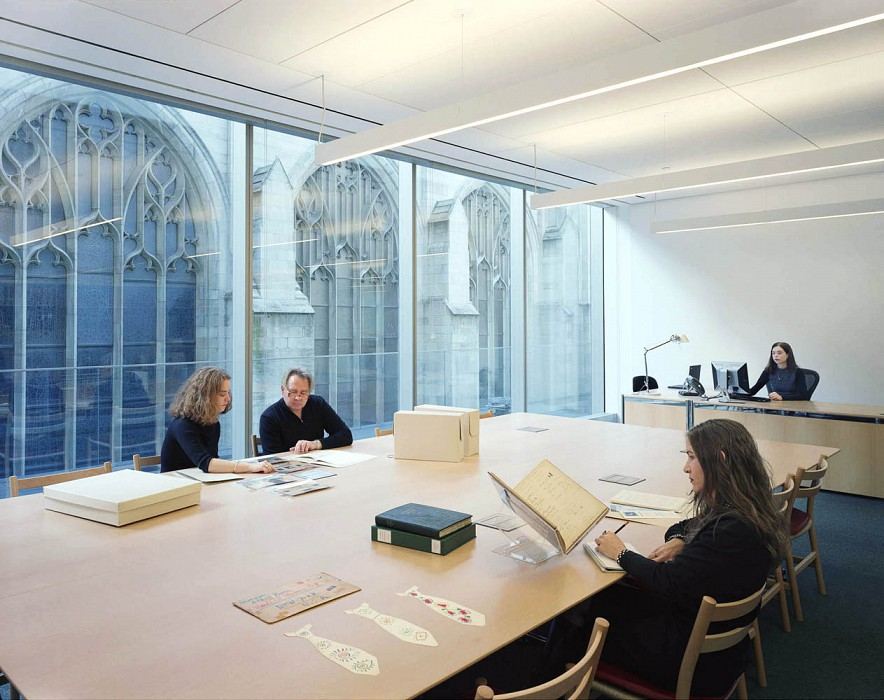 Museum Archives Study Room, Library & Museum Archives, MoMA
