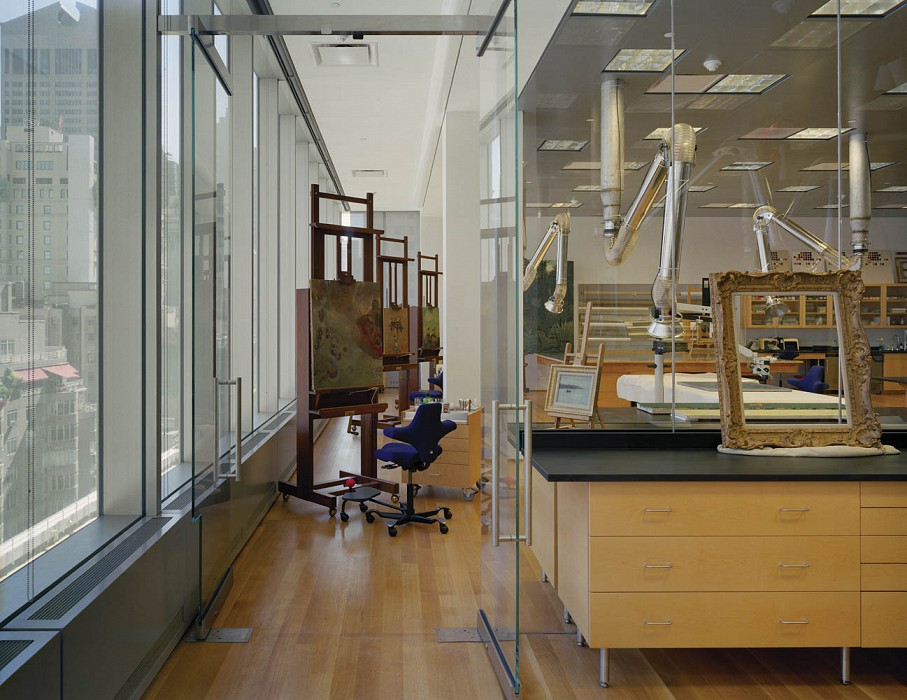 Paintings Lab, MoMA Conservation Labs