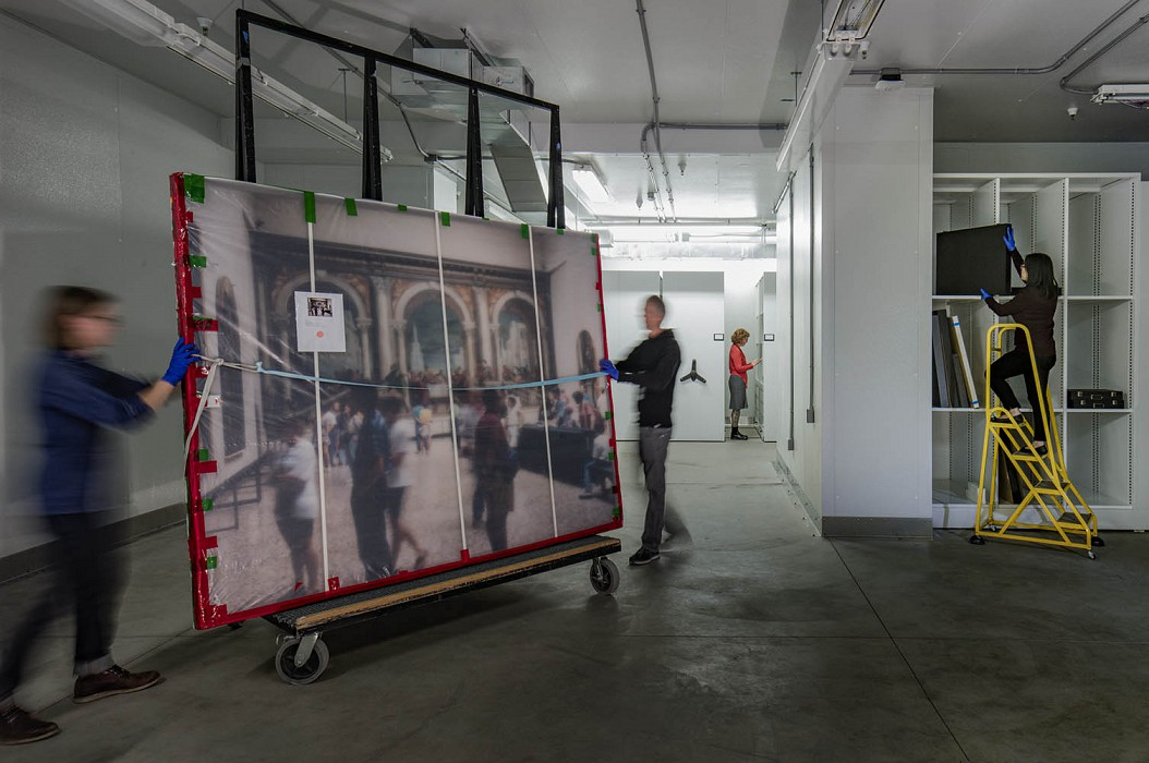 Collection Storage, Conservation Lab & Collection Support, SFMOMA