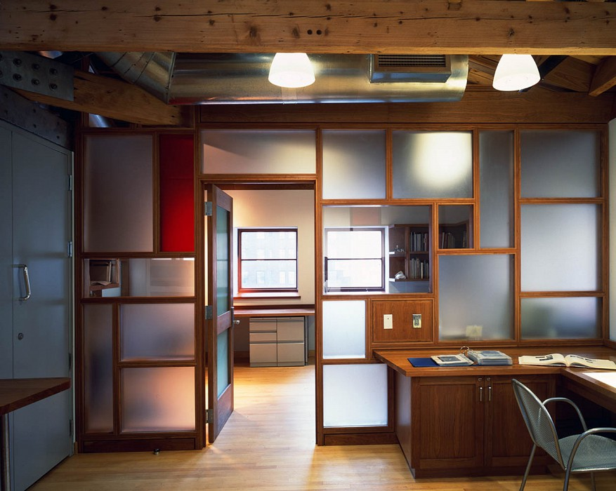 Office, Thaw Conservation Center, Morgan Library & Museum