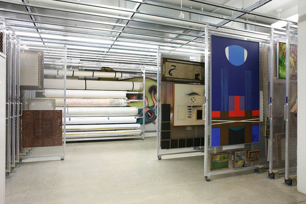 Painting & Textile Storage, Allen Memorial Art Museum Expansion & Renovation, Oberlin College