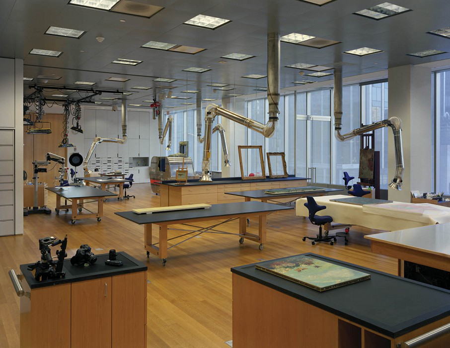 Paintings and Sculpture Lab, MoMA Conservation Labs