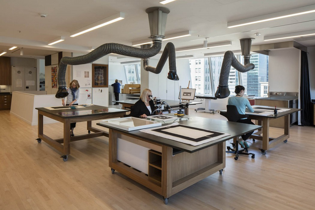 Paper and Photography Studio, Conservation Lab & CollectionSupport SFMOMA