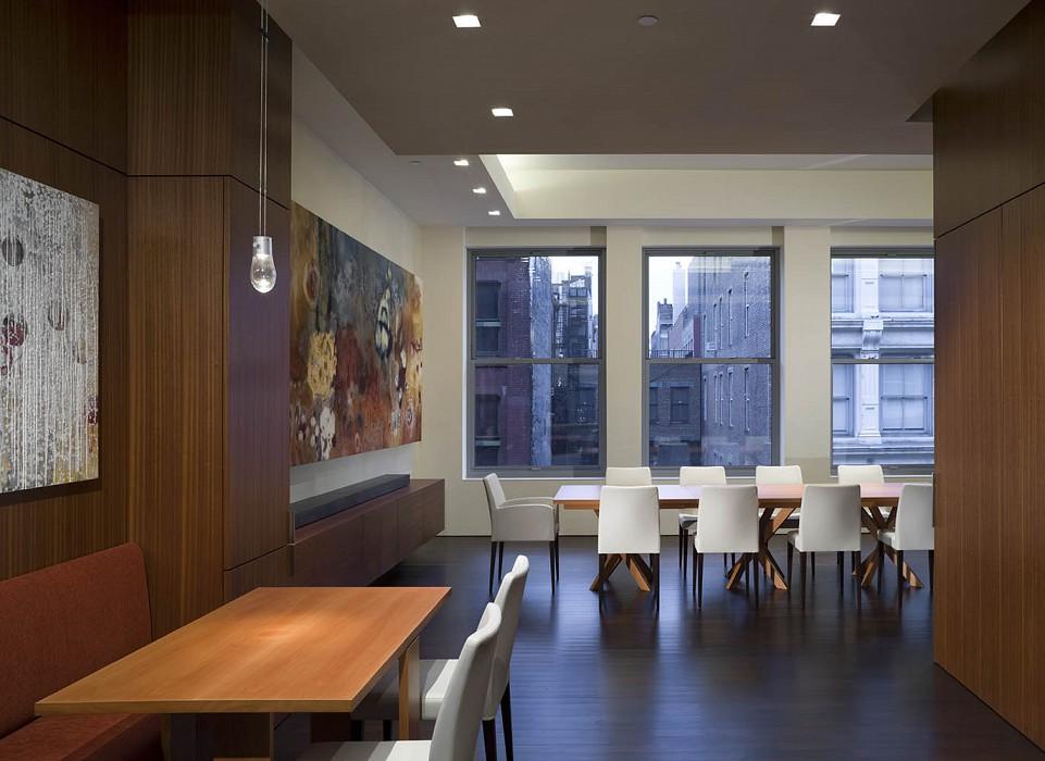 Breakfast, dining, Mercer Greene Apartment