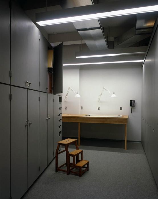 Framing Station and Frame Storage, Agnes Mongan Center, Harvard University Museum