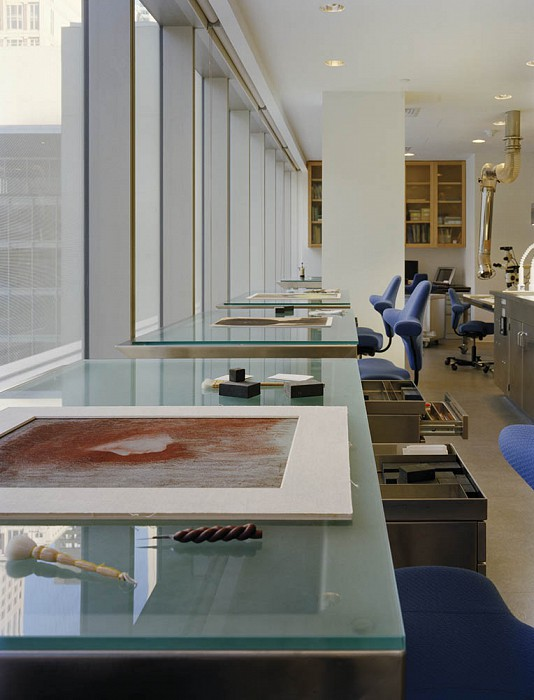 Paper and Photography Lab, MoMA Conservation Labs