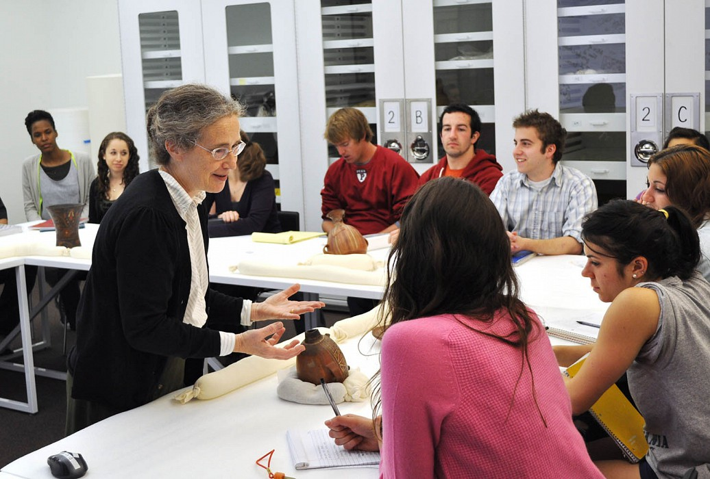 Teaching from Collections, Penn Museum of Archaeology West Wing Renovation