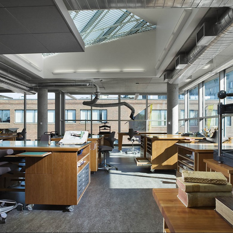 Collections Center, Harvard University Library
