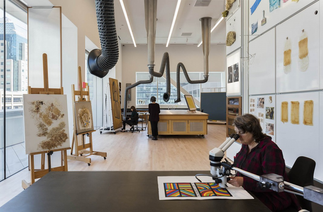 Collections Workroom, Conservation Lab & CollectionSupport SFMOMA