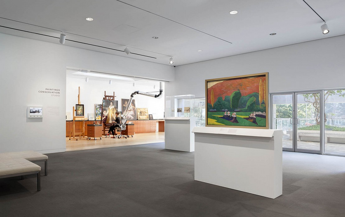 Paintings Conservation, Gallery and Founders Room, Dallas Museum of Art