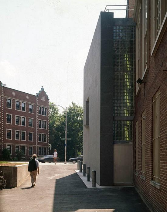 West Elevation, Agnes Mongan Center, Harvard University Museum