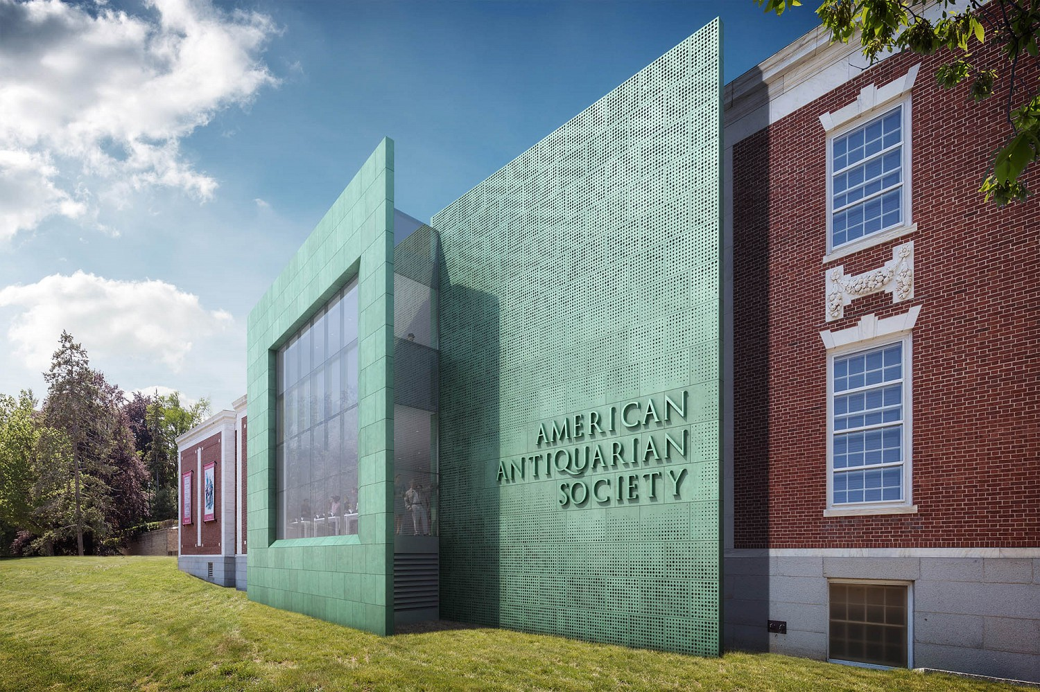 American Antiquarian Society Expansion and Renovation