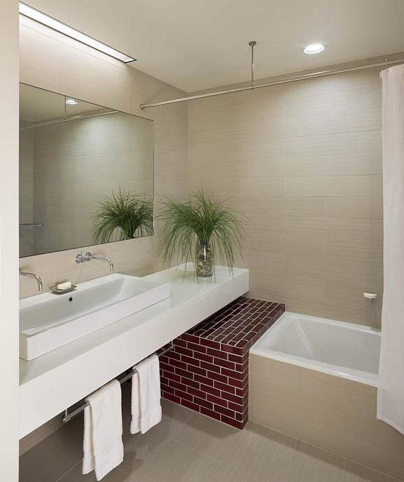 Bathroom, Mercer Greene Apartment